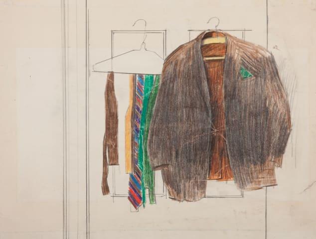 Derek Stafford, Jacket and Ties, c1980