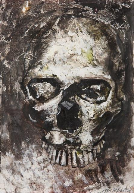 Derek Stafford, Skull, c.2000
