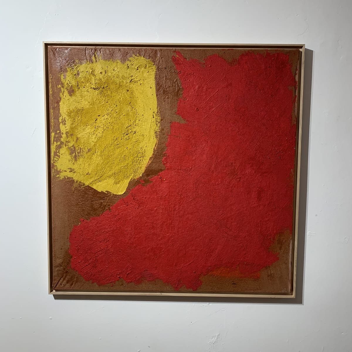 Georges Mathieu Yassef, Red and Yellow, 1986