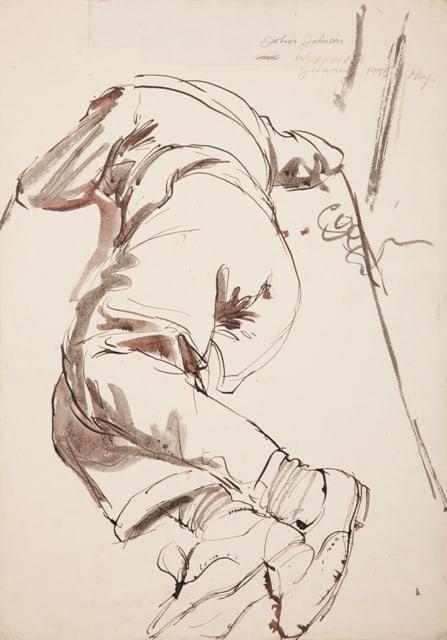 Derek Stafford, John Johnston Wuppertal, 1945