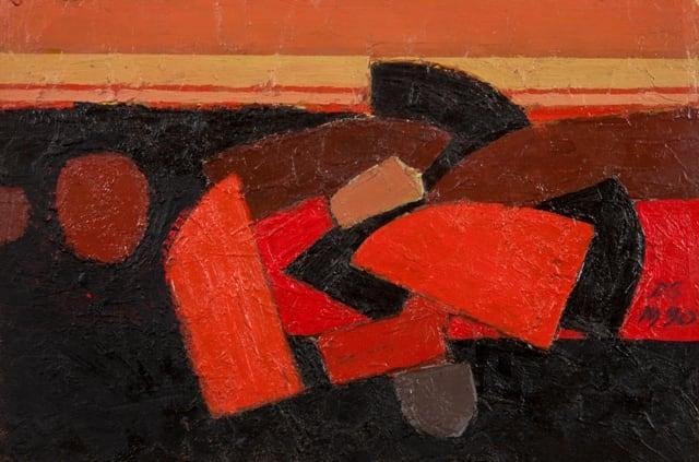 Derek Stafford, Breakwater series III, 1990