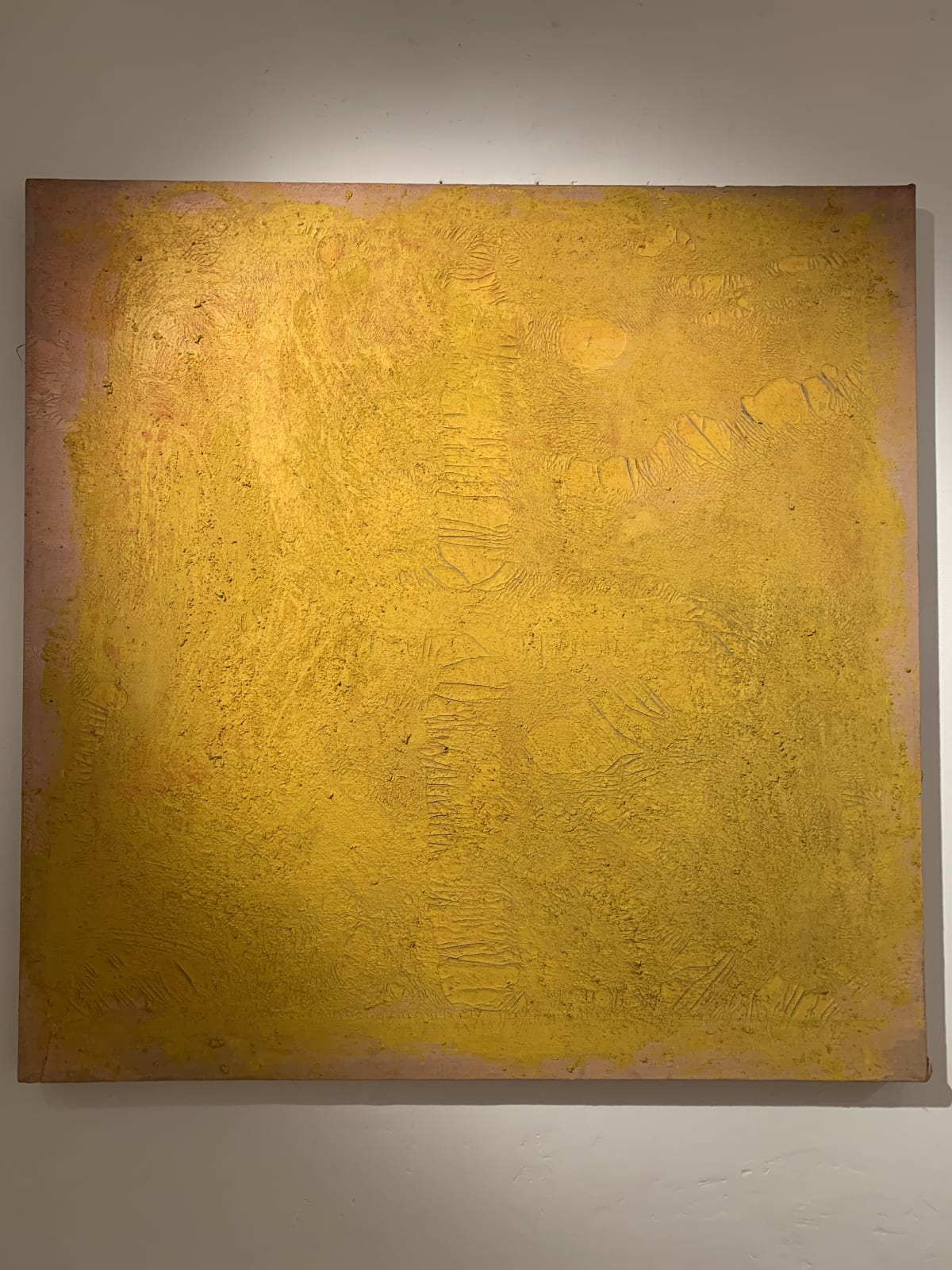 Georges Mathieu Yassef, Yellow, 1986