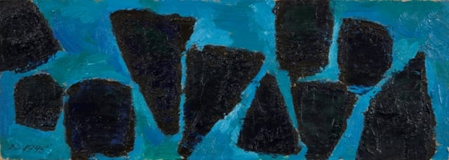 Derek Stafford, Untitled in Blue, 1995