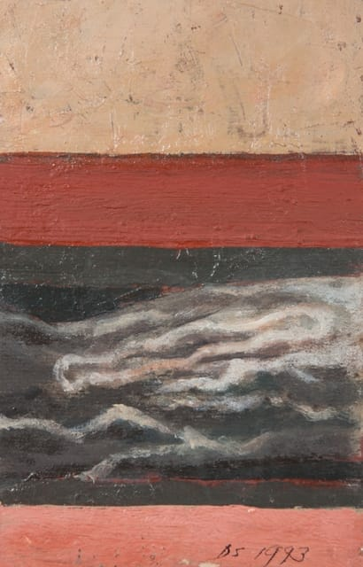 Derek Stafford, Abstracted Landscape, 1993
