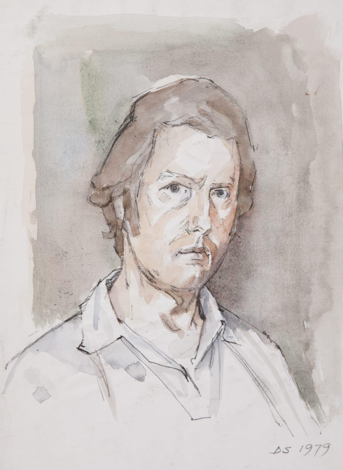 Derek Stafford, Self-portrait, 1972