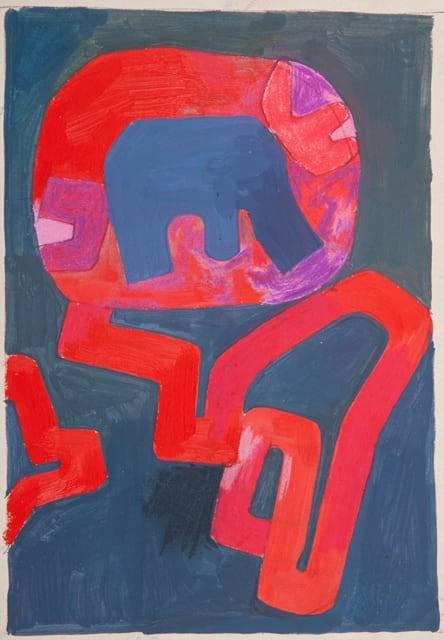Derek Stafford, Red Forms, c.2000