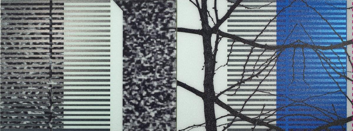 Gerald van der Kaap, PERMANENT WAVE (VI) [!--noise_park_tree--], 2020