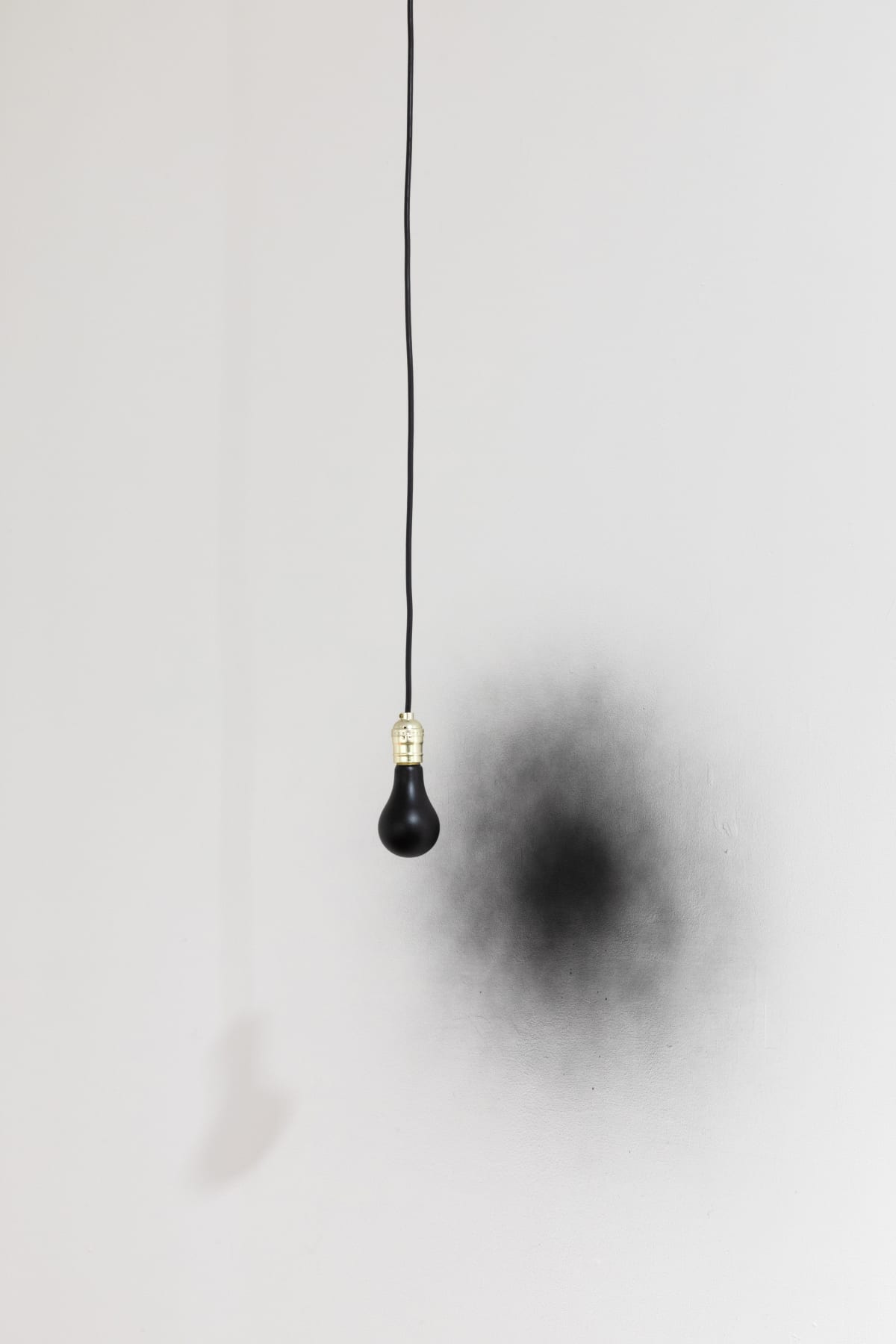 Ben Hagari Invert (bulb and socket), 2011 Bulb, socket, spray paint, electric cord, LED light Dimensions variable