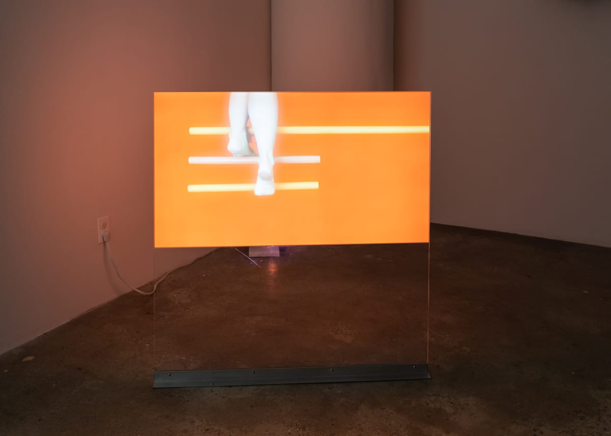 Alina Tenser Climbing from Memory, 2015 Video projection with screen Edition of 3 + 1 AP