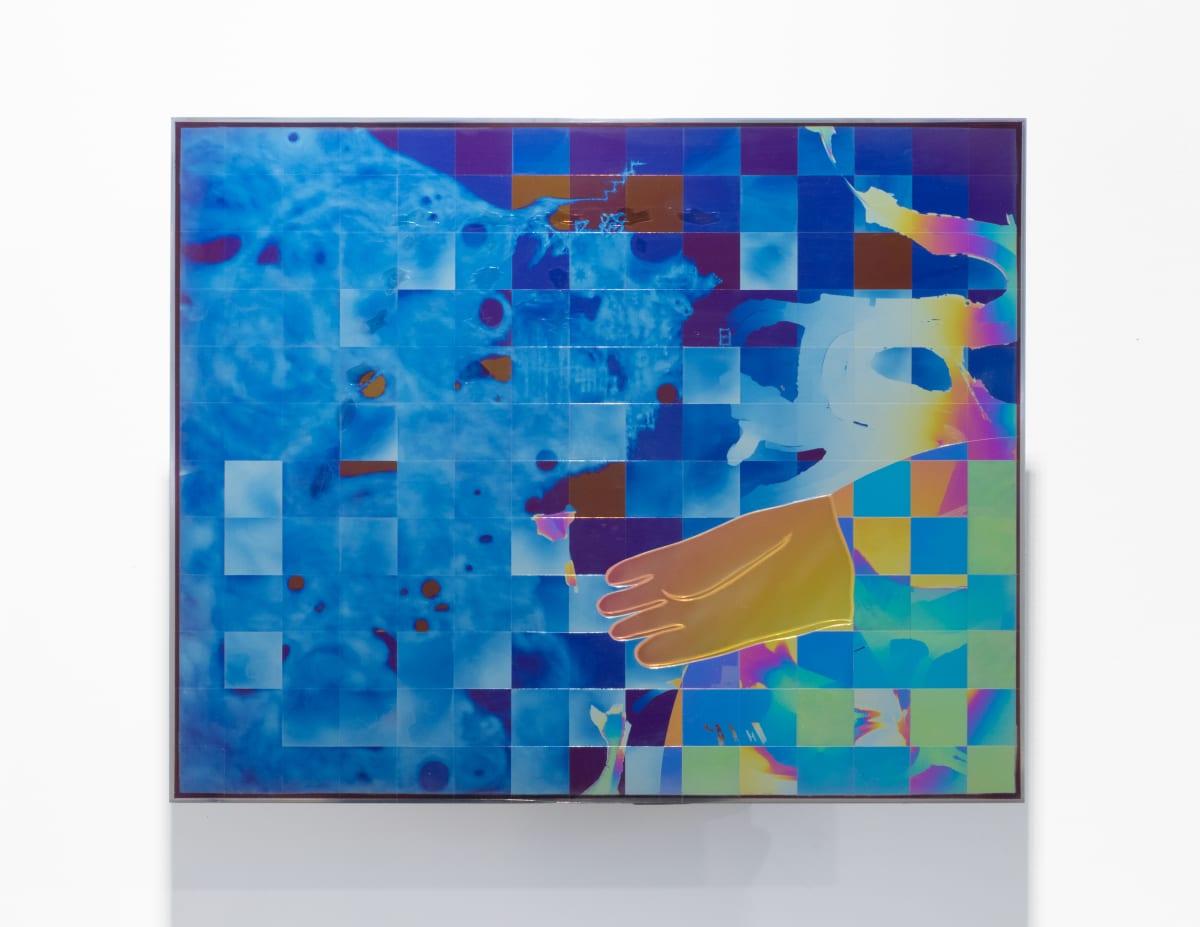 Nathaniel de Large NU6900F, 2019 Anodized titanium 12 x 15 x 5 1/2 in 30.5 x 38.1 x 14 cm