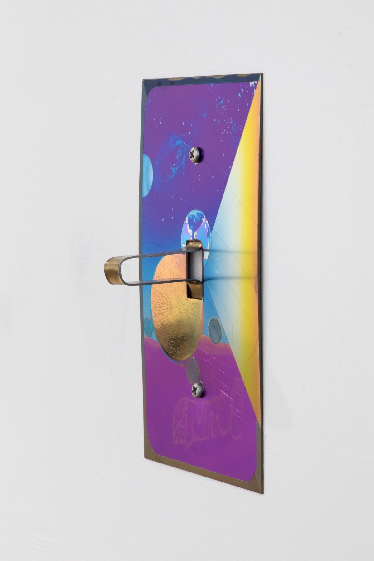 Nathaniel de Large 1 Gang, 2019 Anodized titanium 6 1/2 x 4 x 2 1/2 in 16.5 x 10.2 x 6.3 cm