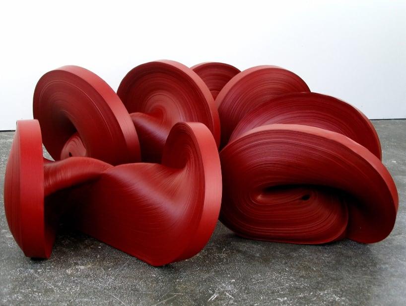 Jae Ko, Untitled- Red Installation, 2018
