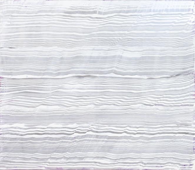 Ricardo Mazal, White Over Violet 2, 2016