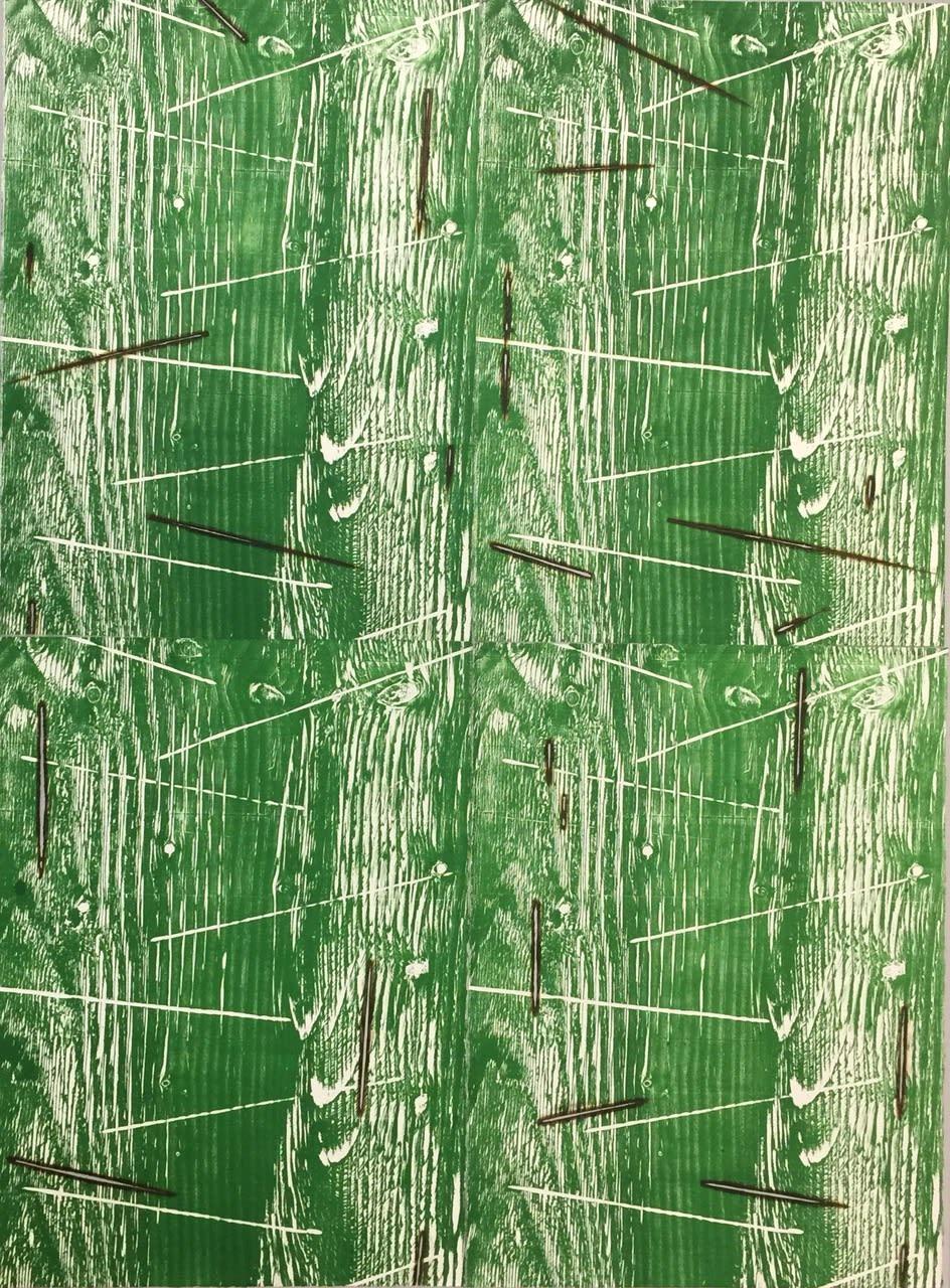Kathleen Kucka, Heartwood green, 2019
