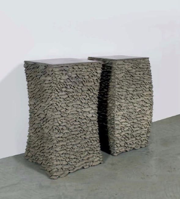 Martin Kline, Concave and Convex Drums, 2011