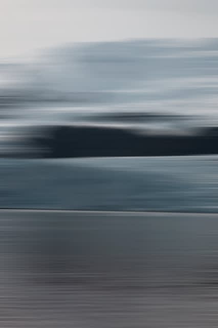 Bonnie Edelman, Still Glacier Lagoon, 2017