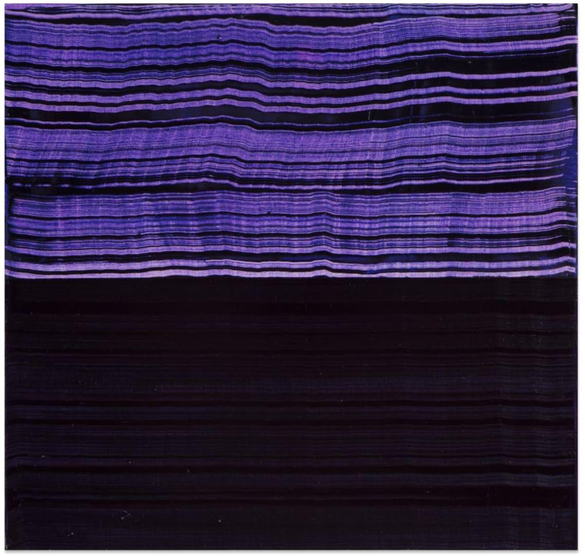 Ricardo Mazal, Violet Blue and Black 1, 2016