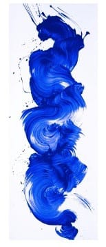 James Nares, I'm Blue, 2017