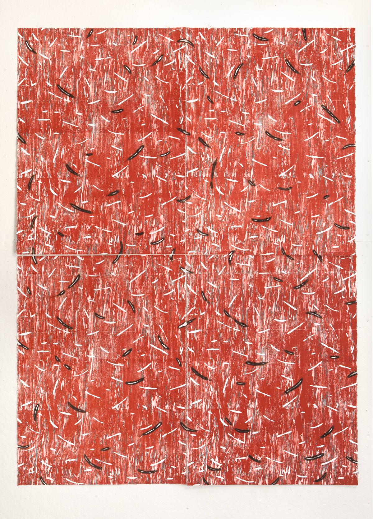 Kathleen Kucka, Heartwood Red, 2019