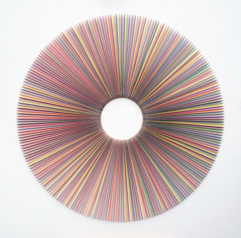 Peter Monaghan, Radiating Paper Cut, 2017
