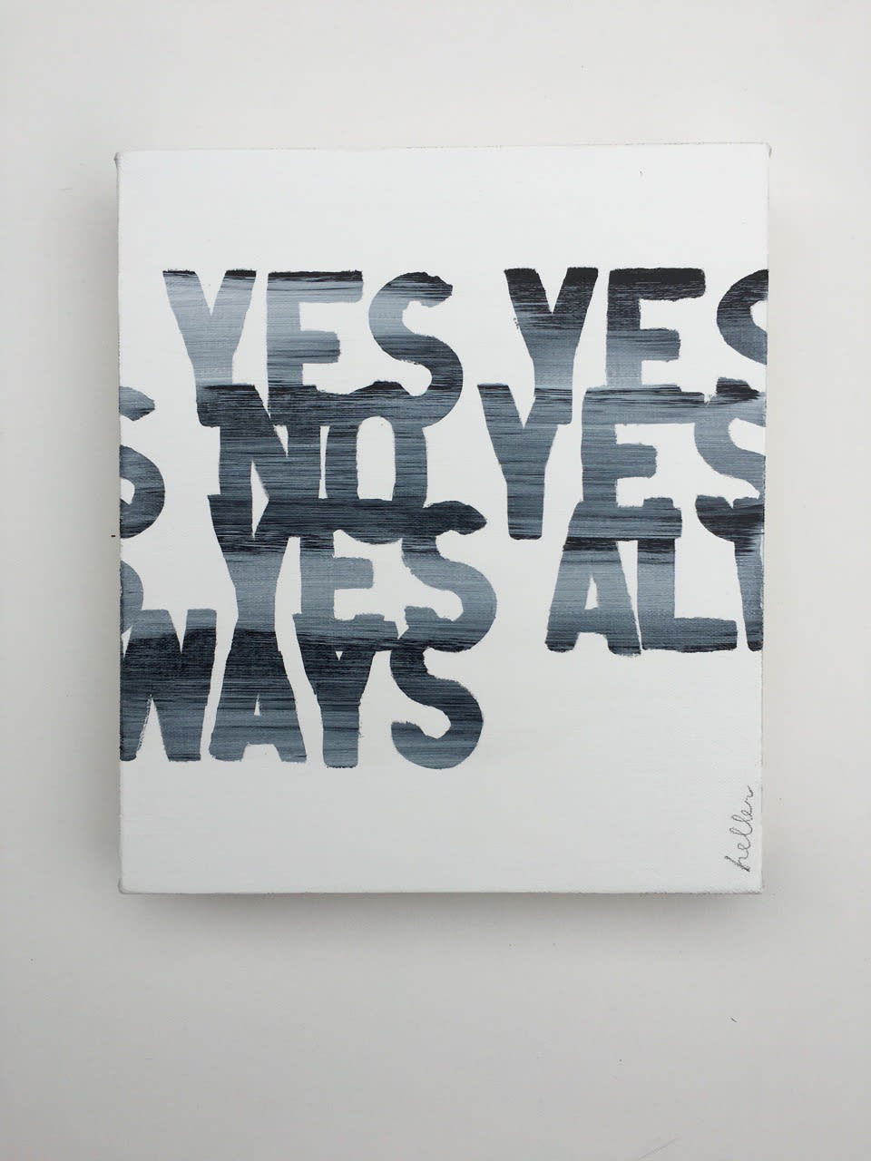 Matthew Heller, Answers to Questions; Yes Yes No Yes Yes Always, 2016