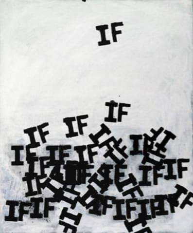 Matthew Heller, Untitled (falling ifs), 2011