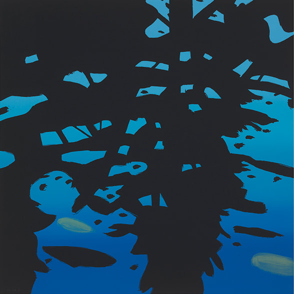 Alex Katz, Reflections, 2010