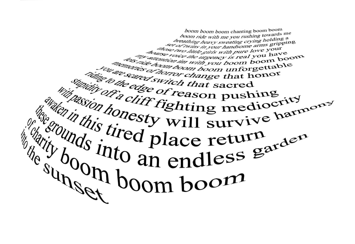 Matthew Heller, The Urgency (poem), 2011-2012