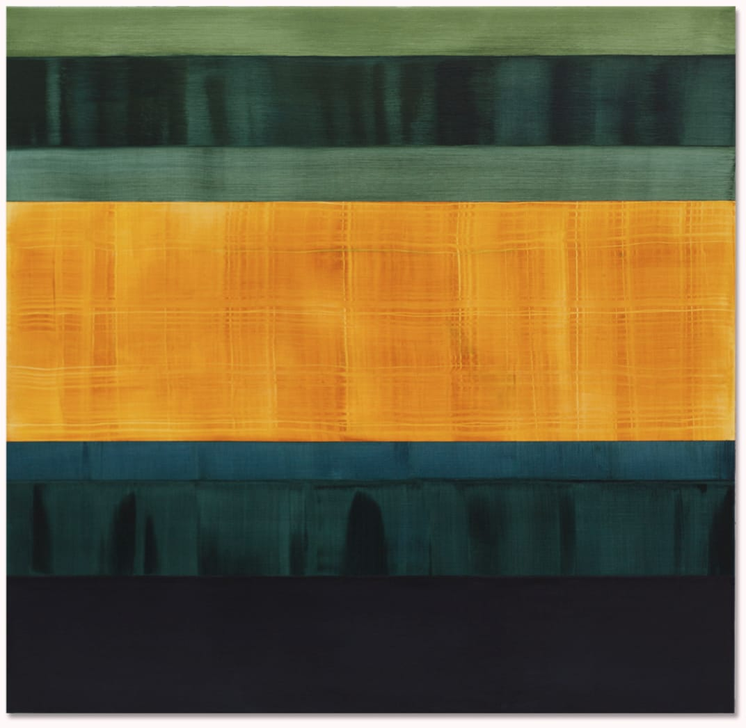 Ricardo Mazal, Composition in Greens 2, 2014