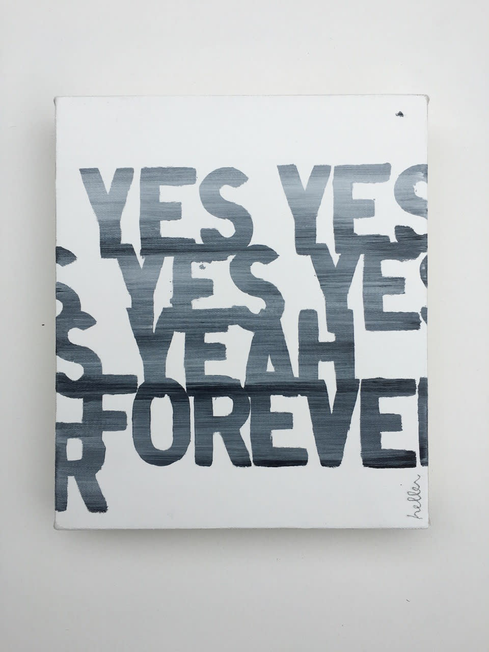 Matthew Heller, Yes Yes Yes Yes Yeah Forever, 2016