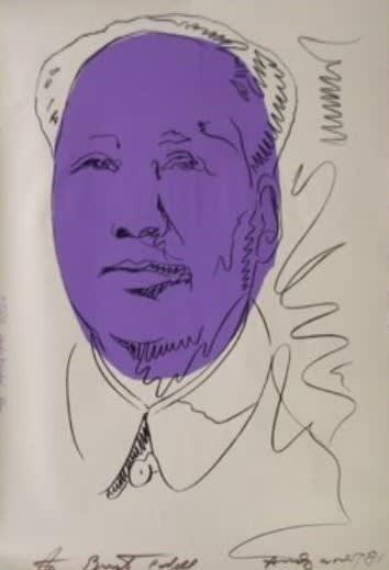 Andy Warhol, Mao, 1974