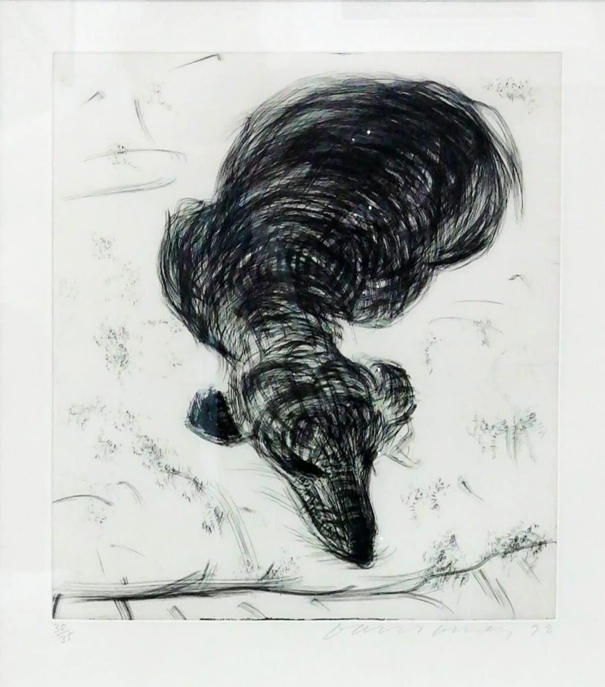 David Hockney, Dog Wall Number 7, 1998