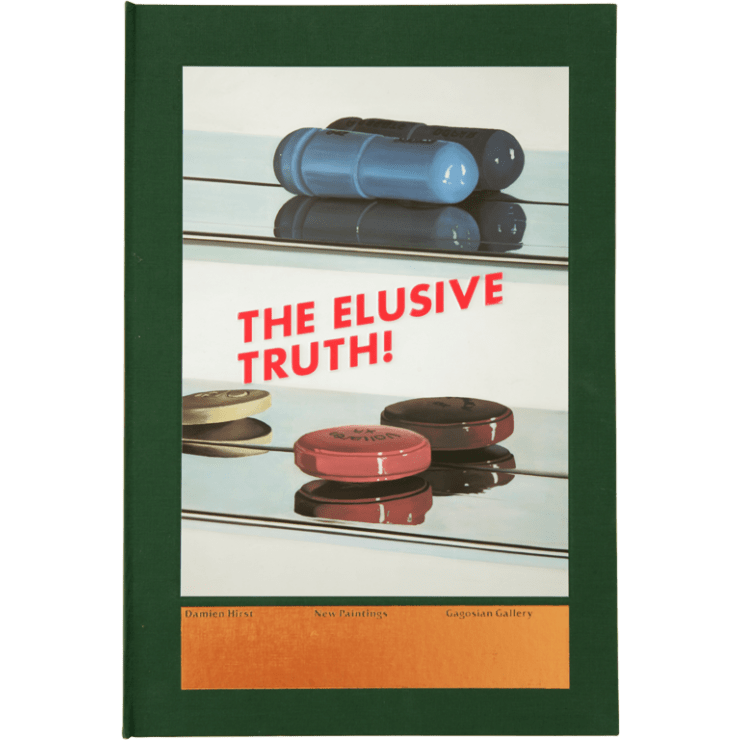 Damien Hirst, The Elusive Truth (Two Pills) , 2005
