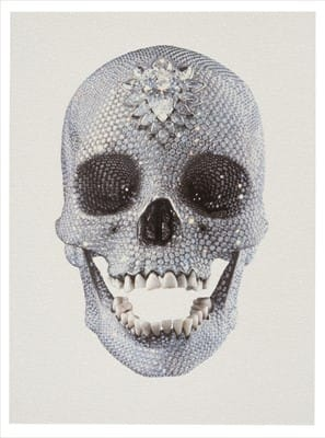 Damien Hirst, For The Love of God (White), 2011