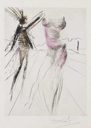 Salvador Dali, Le Buste, 1968/1969