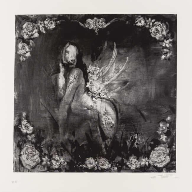 Antony Micallef, Black Siren, 2010,