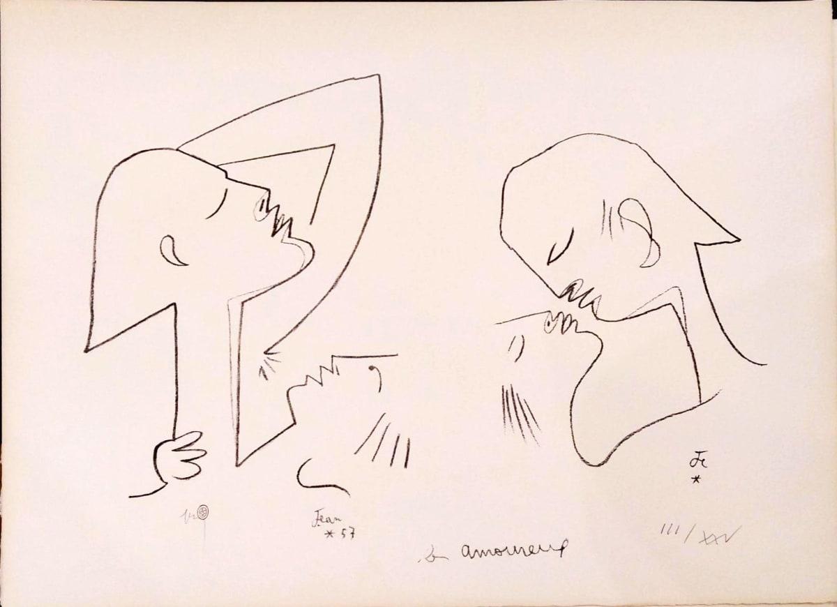 Jean Cocteau, Les Amoreux, 1957