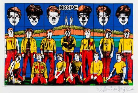 Gilbert & George, Hope, 2010