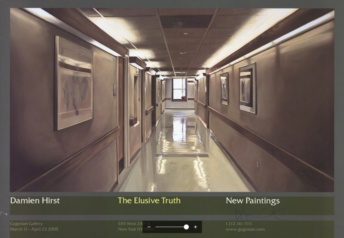 Damien Hirst, The Elusive Truth (Hospital Corridor) , 2005