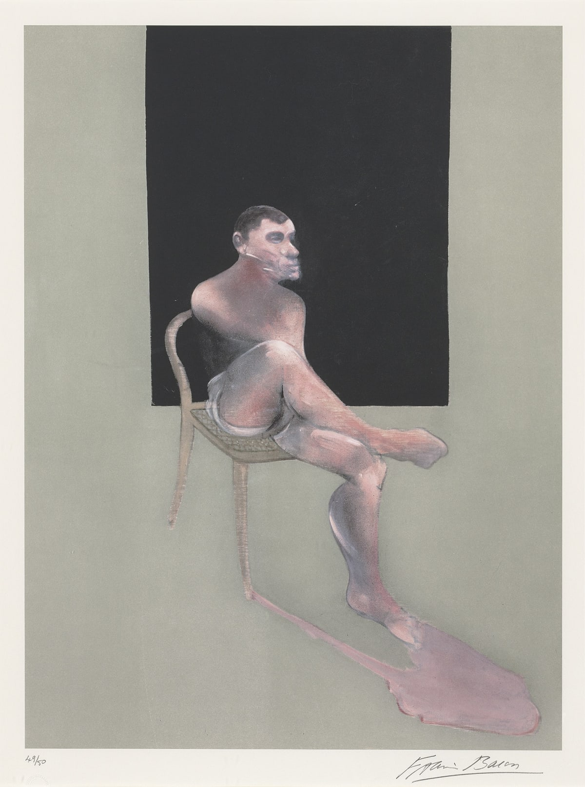 Francis Bacon, Portrait of John Edwards, 2002