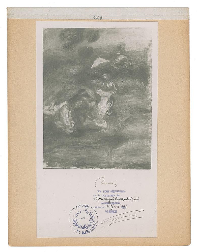 Pierre-Auguste Renoir, Original photograph