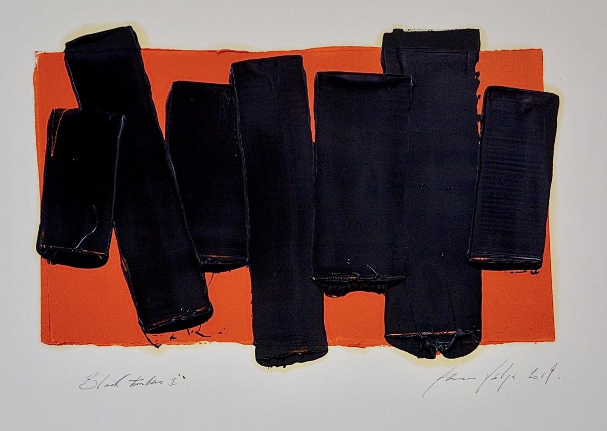 Marcus Hodge, Black Timbers I, 2019