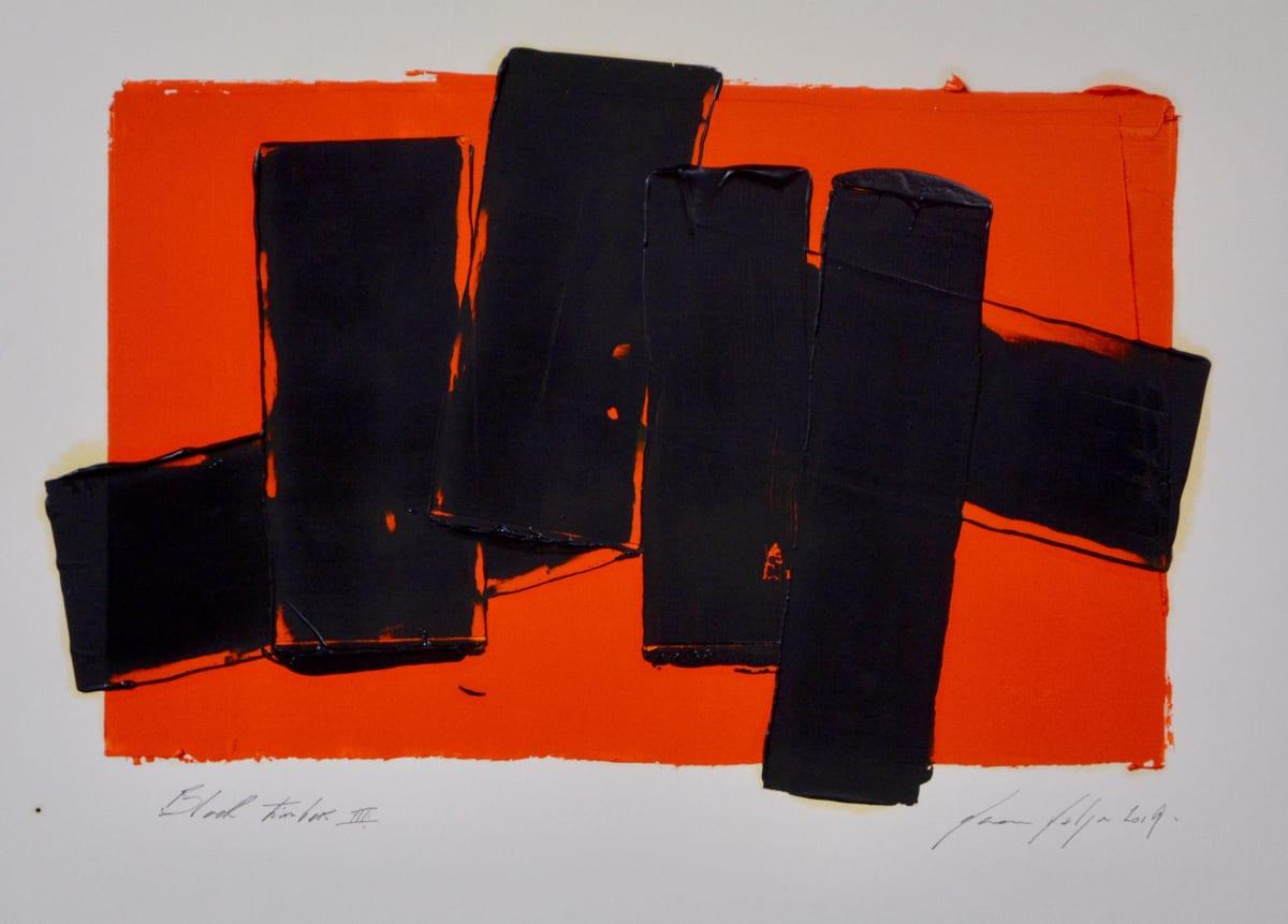 Marcus Hodge, Black Timbers III, 2019