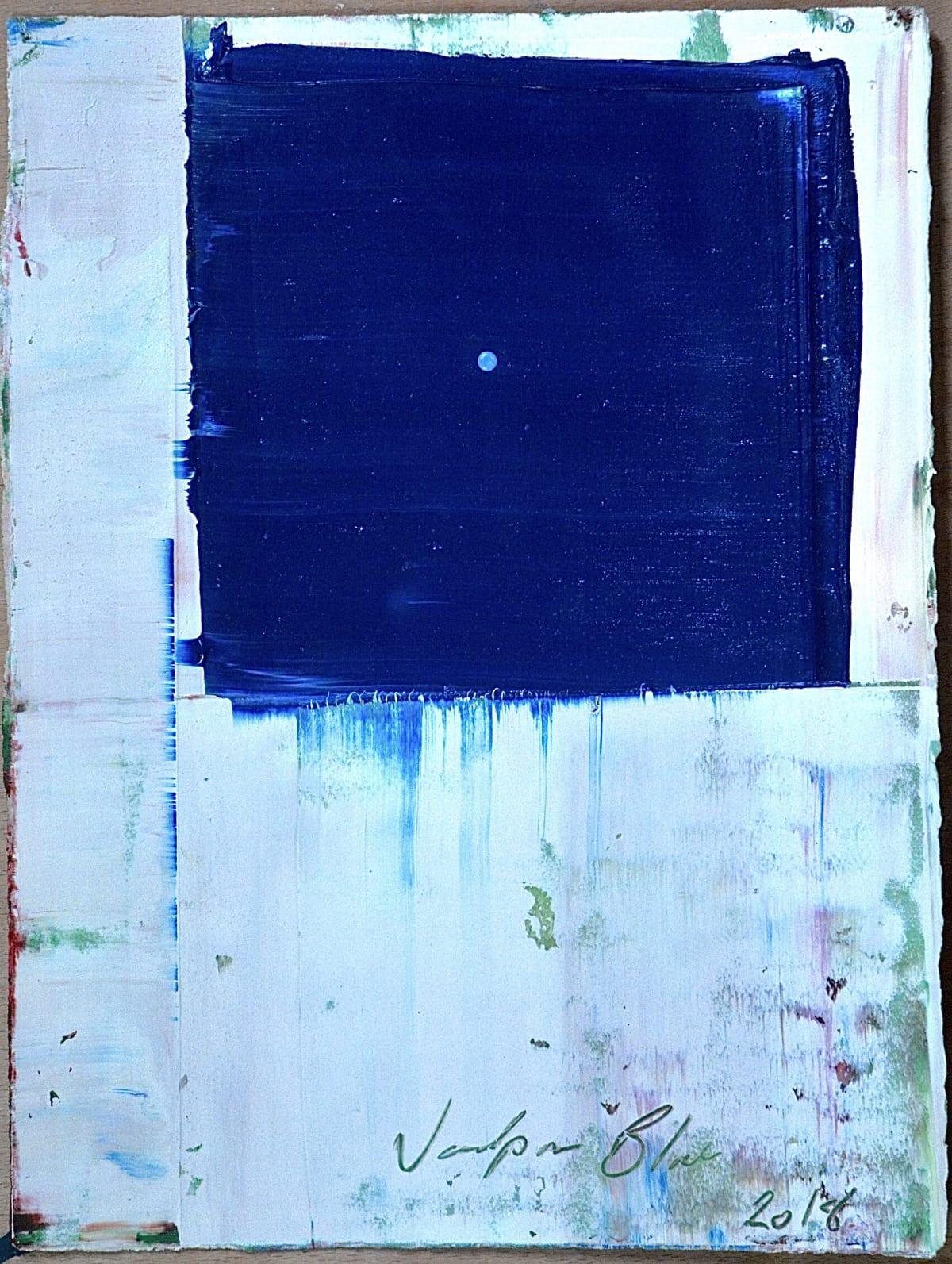 Marcus Hodge, Tantric 2, Jodhpur Blue, 2018