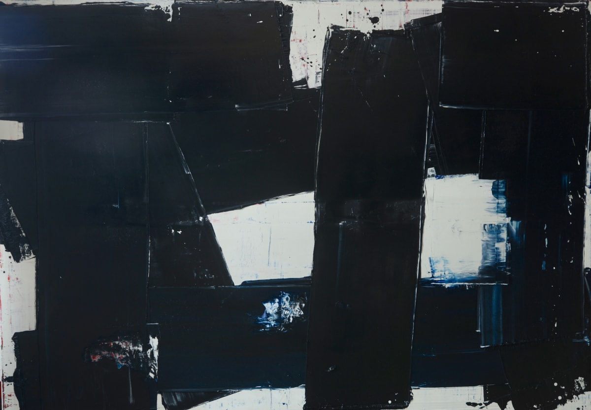 Marcus Hodge, Black Interlock, 2019