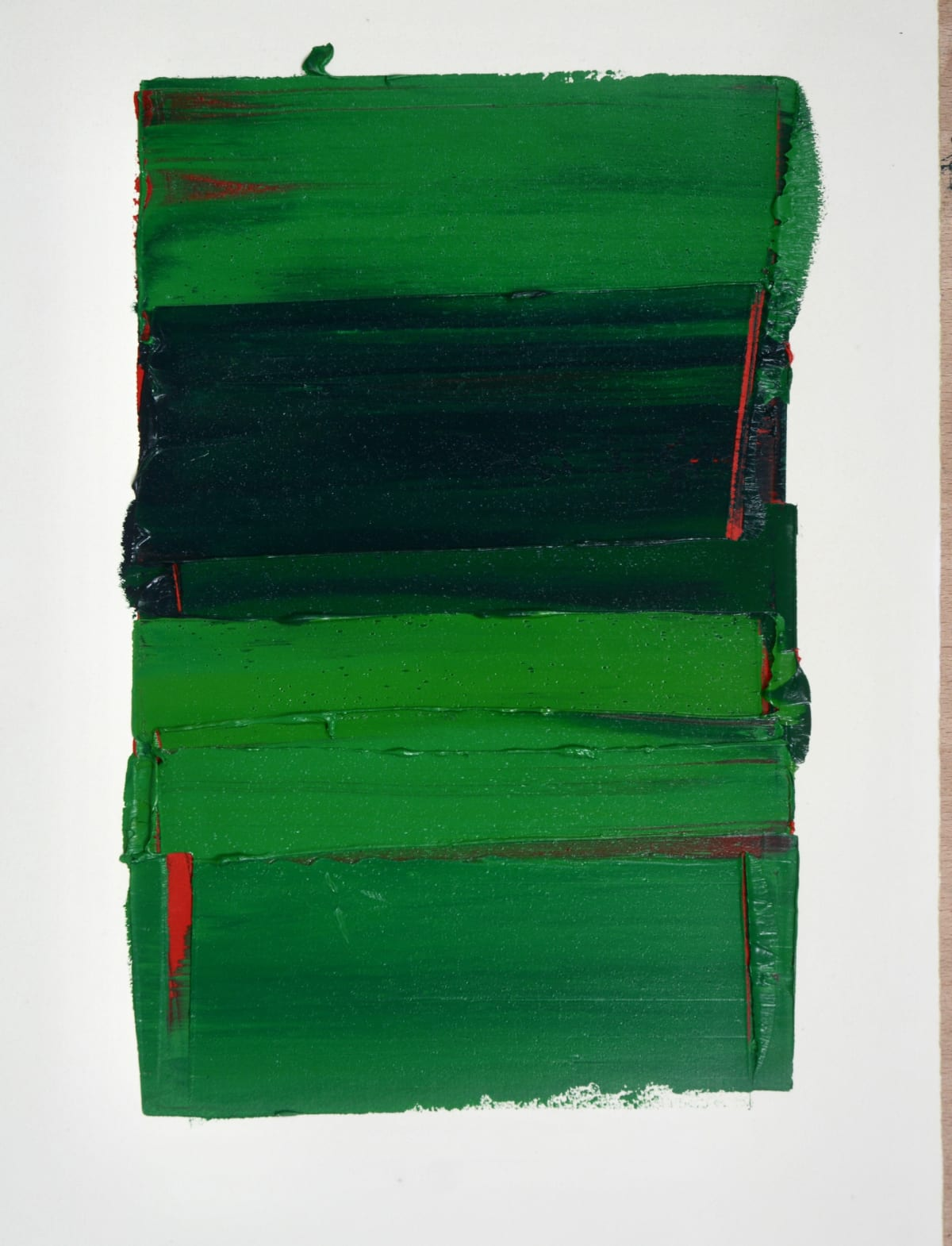Marcus Hodge, Green Stacks, 2019