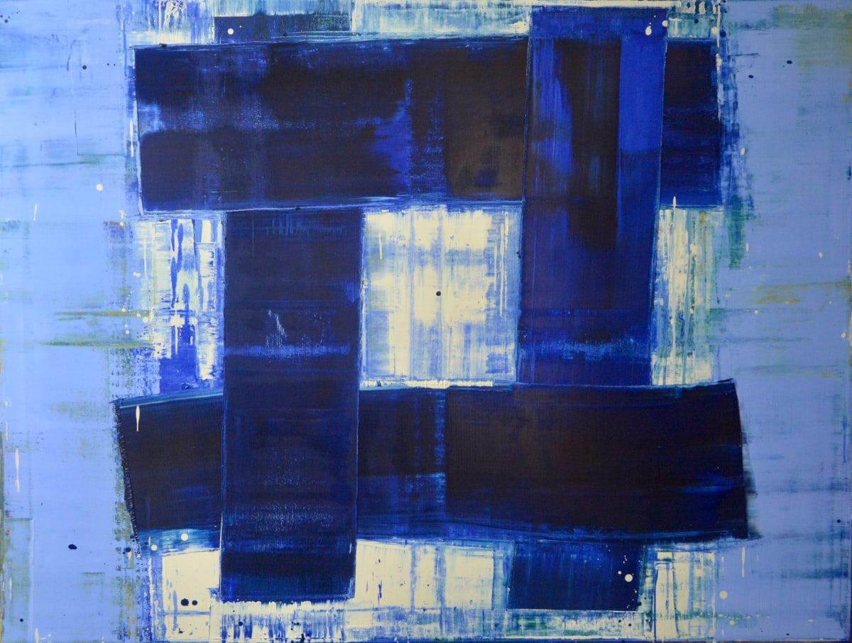 Marcus Hodge, Blue Karma, 2019