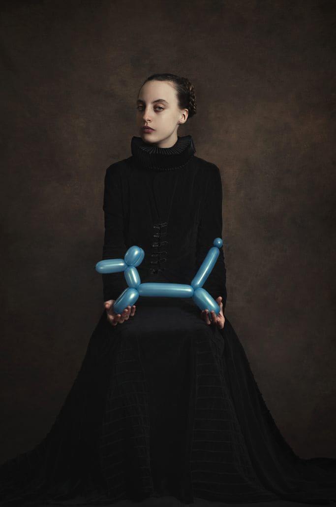 Romina Ressia, Blue Dog Balloon, 2015