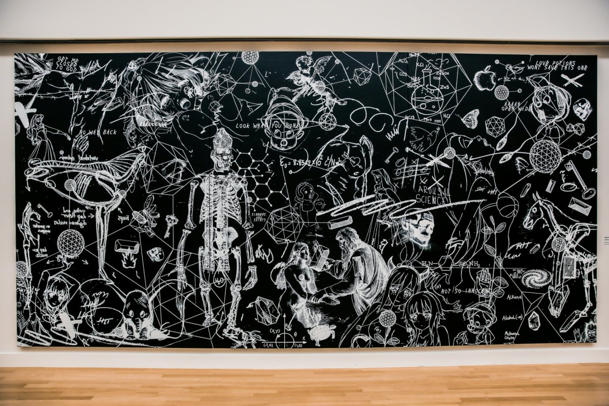 Joseph Klibansky, Love Potions Won't Save This One (3 panels), 2018