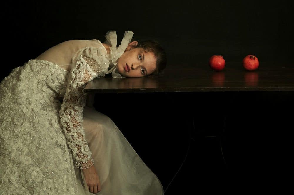 Romina Ressia, Lying on the Table, 2018